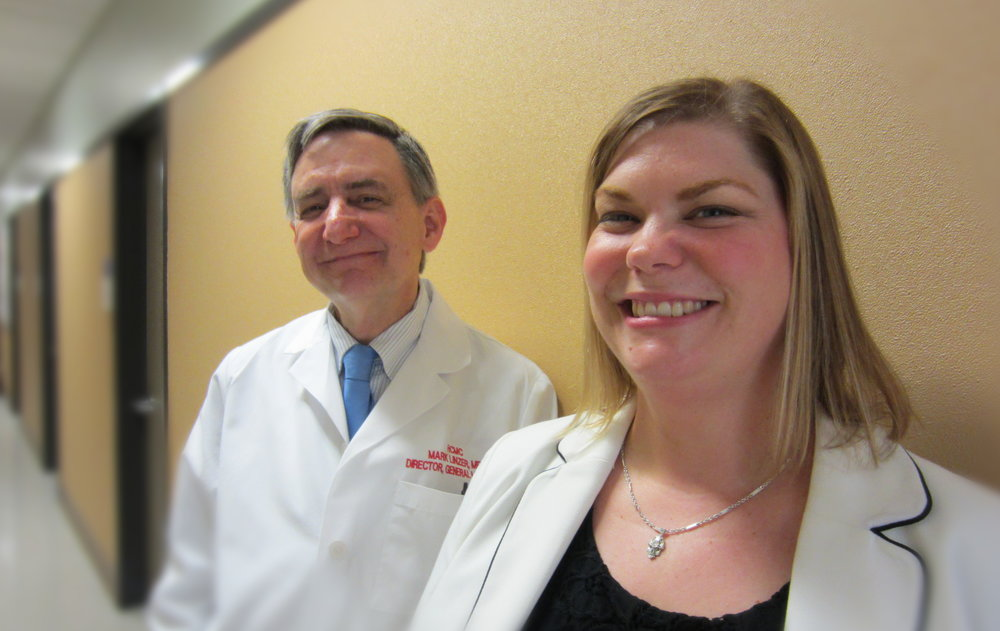 Dr. Mark Linzer & Sara Poplau