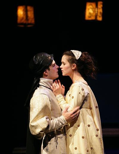 With Christine Albright--Romeo and Juliet
