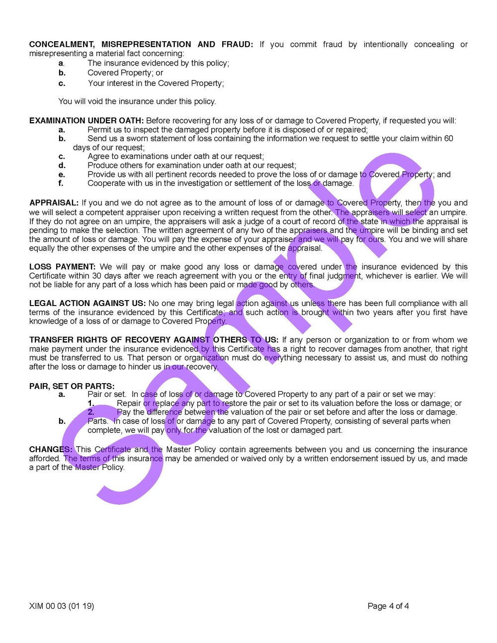 CW XIM 00 03 (01-19) Certificate of InsuranceSample_Page_4.jpg