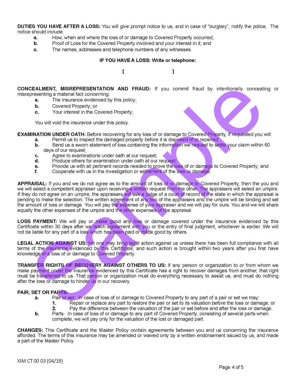 XIM CT 00 03 04 19 Connecticut Certificate of InsuranceSample_Page_4.jpg
