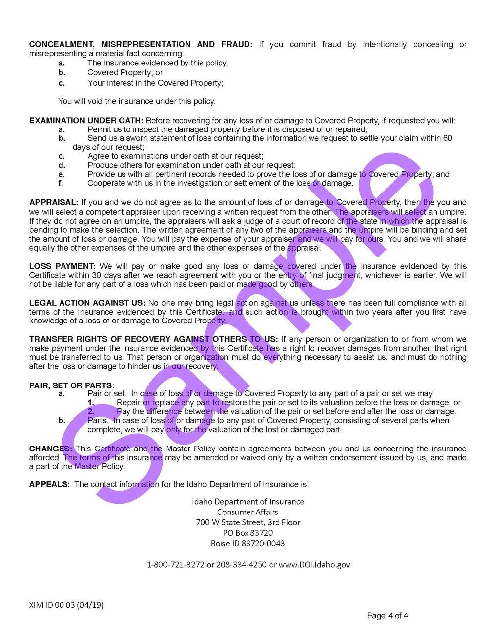XIM ID 00 03 04 19 Idaho Certificate of InsuranceSample_Page_4.jpg