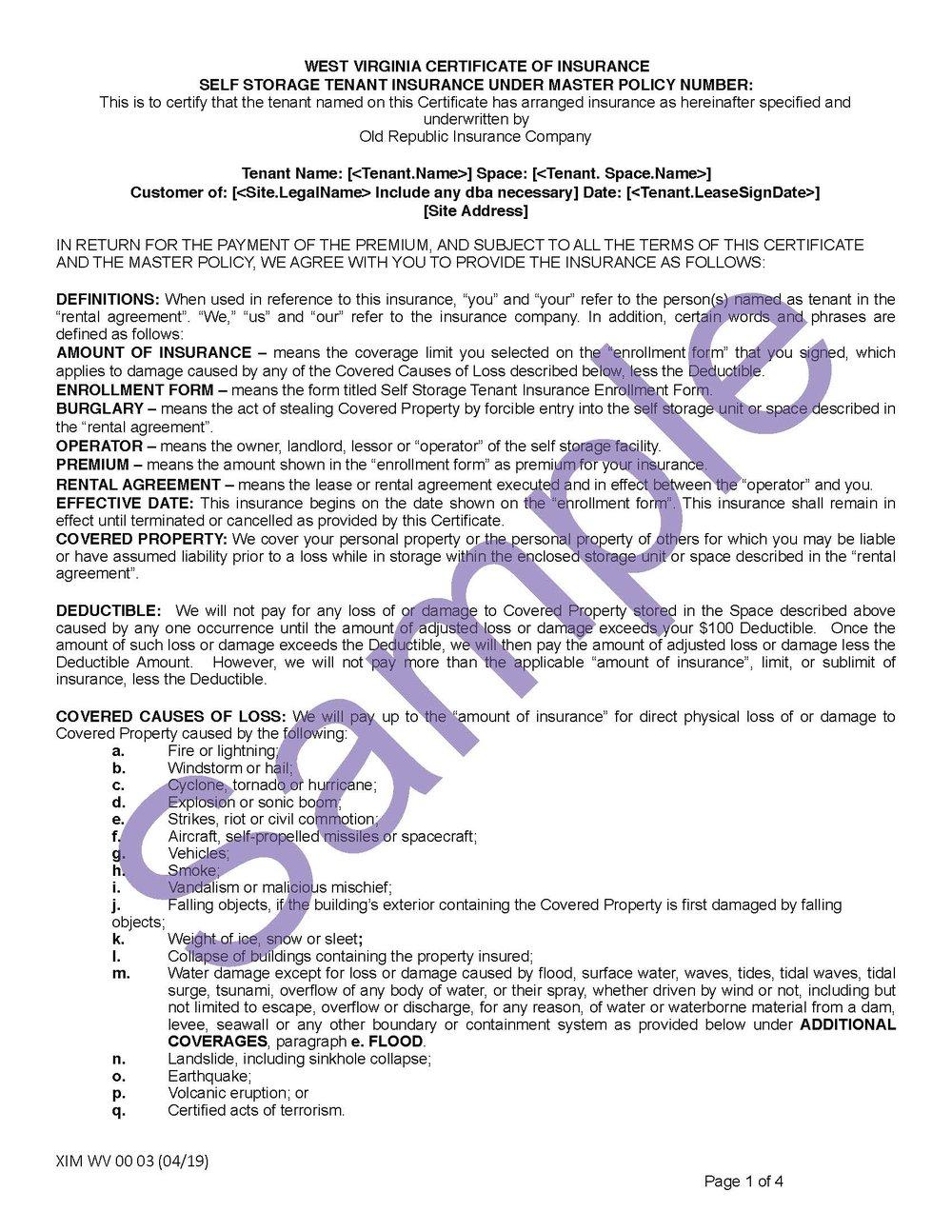 XIM WV 00 03 04 19 West Virginia Certificate of InsuranceSample_Page_1.jpg
