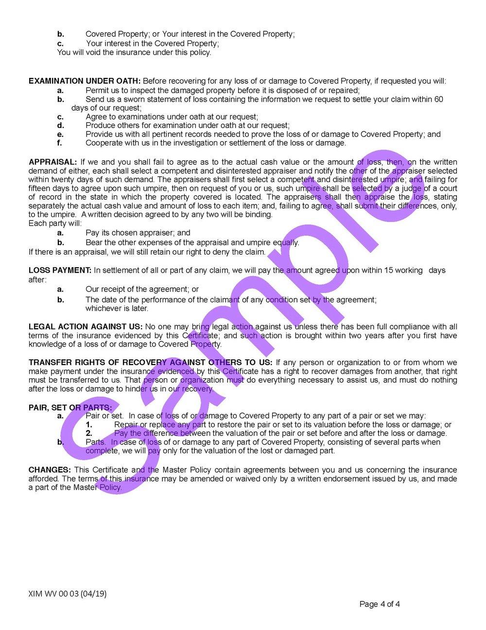 XIM WV 00 03 04 19 West Virginia Certificate of InsuranceSample_Page_4.jpg