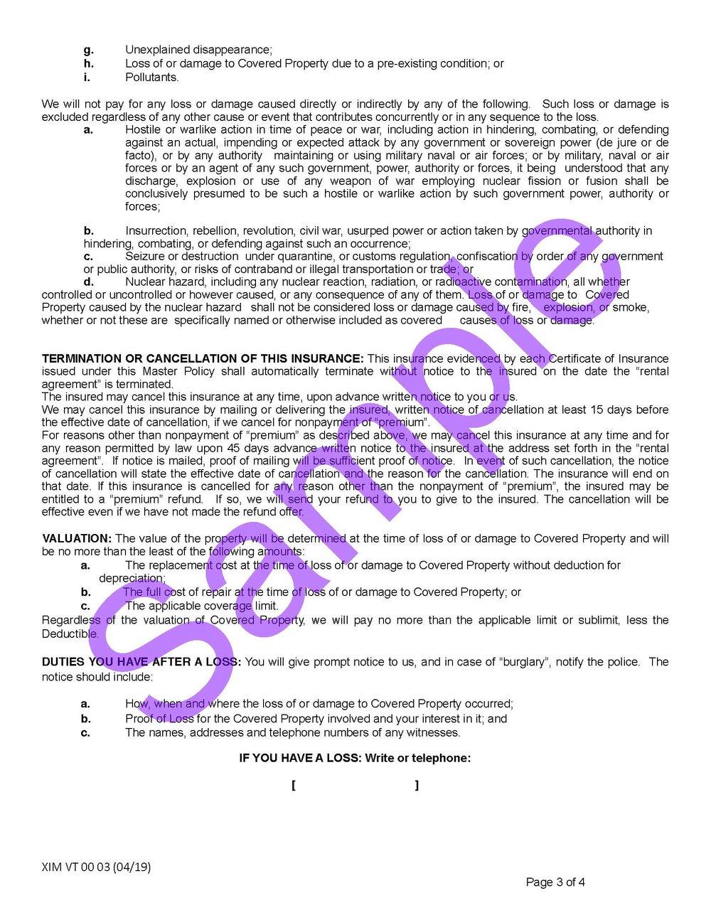 XIM VT 00 03 04 19 Vermont Certificate of InsuranceSample_Page_3.jpg