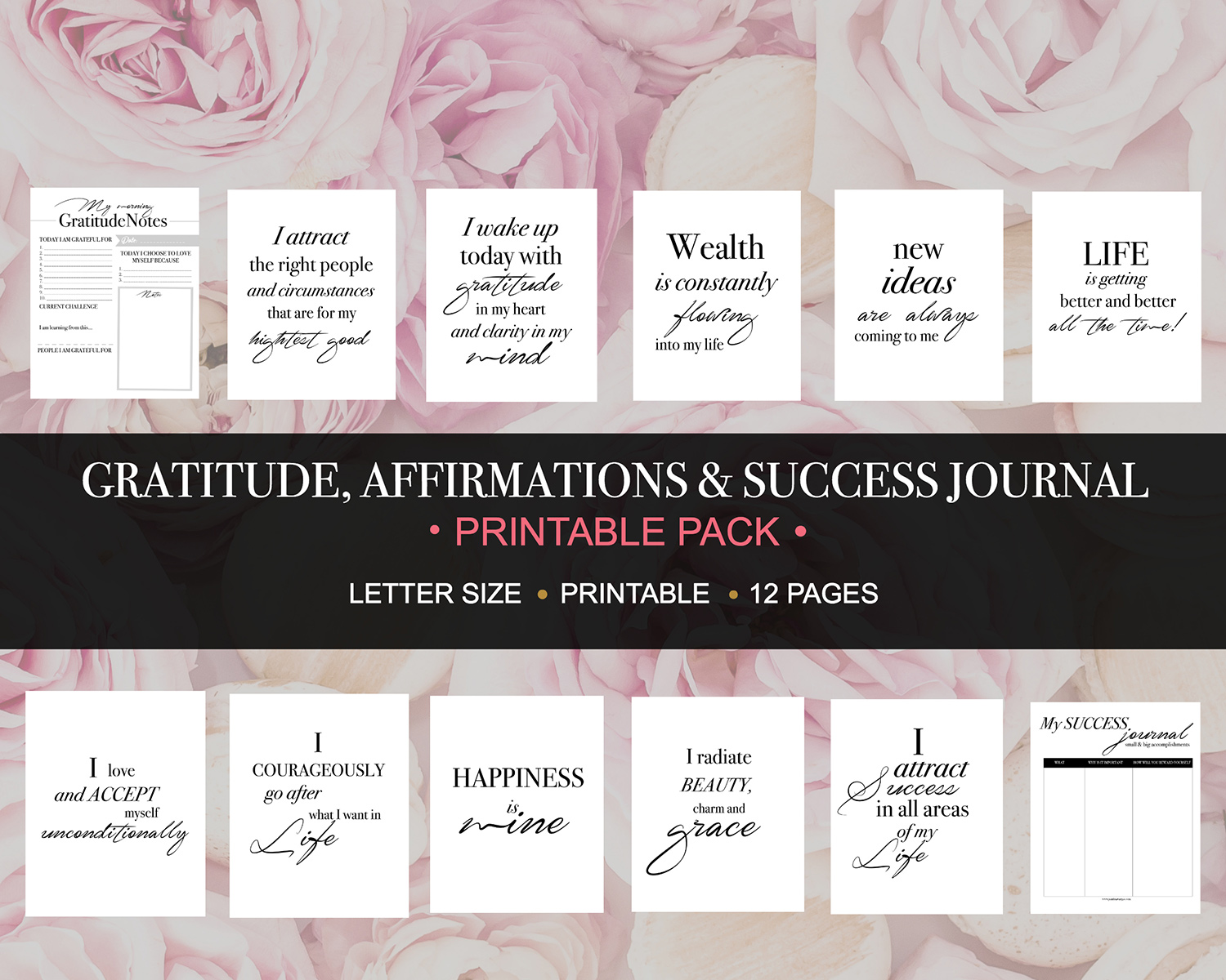 Download the gratitude and affirmation notes paulina vargas gratitude and affirmation printables thecheapjerseys Gallery