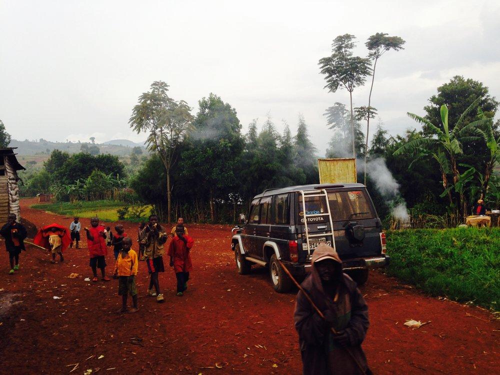 Outside Bukava, South Kivu DRC