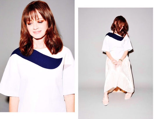 Styled Alexis Bledel for  NYLON .