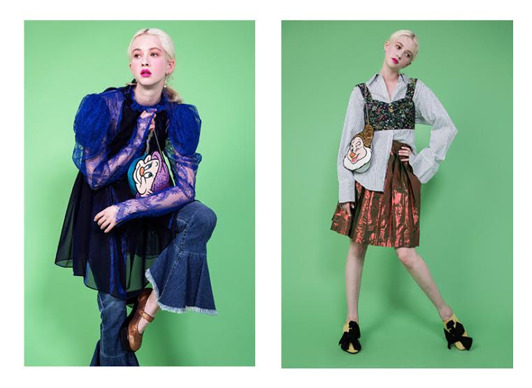 Disney x Danielle Nicole Handbags Snow White Capsule photoshoot.