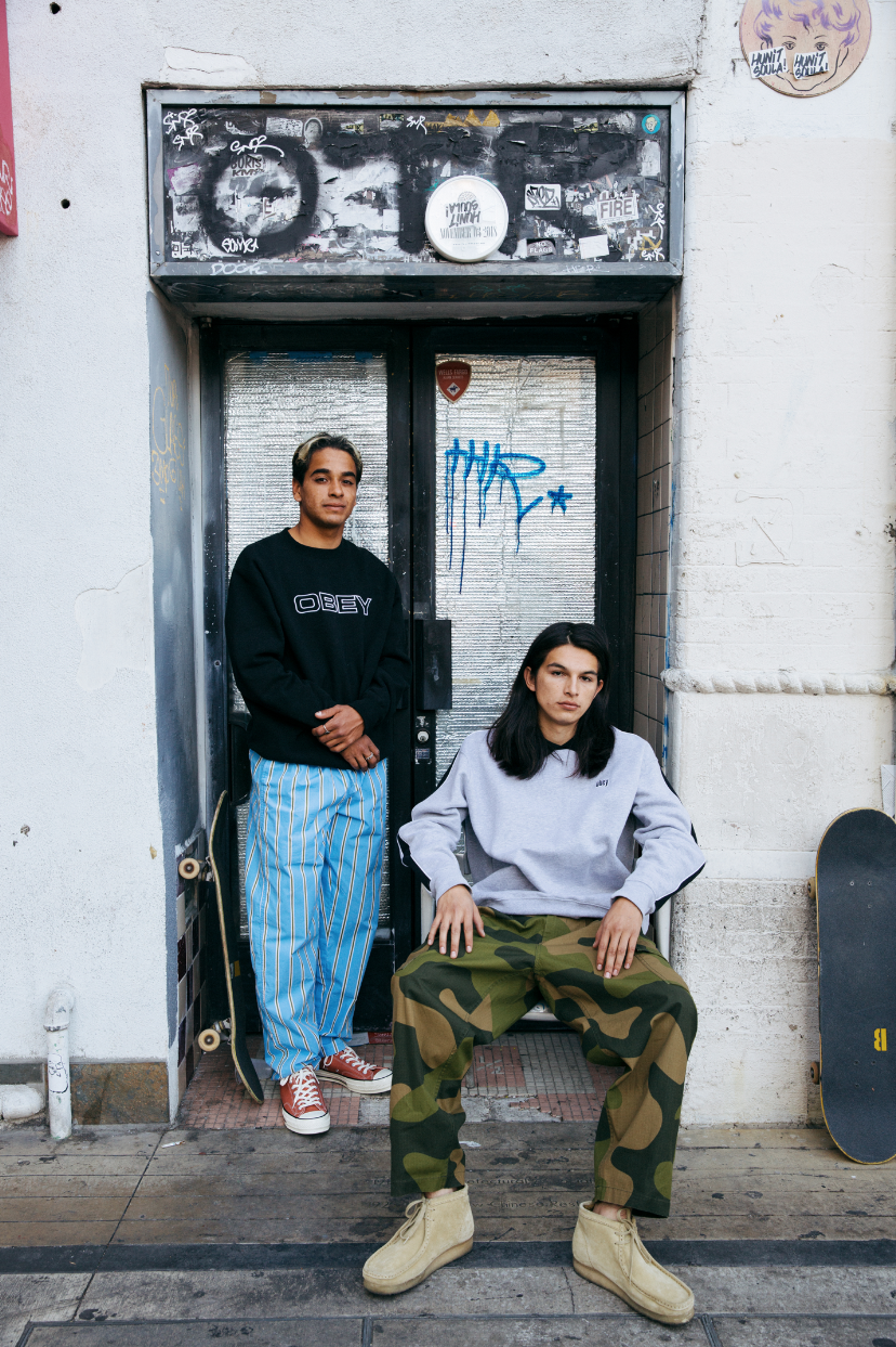 Styled OBEY Clothing Men's Spring 2019 Campaign Shoot