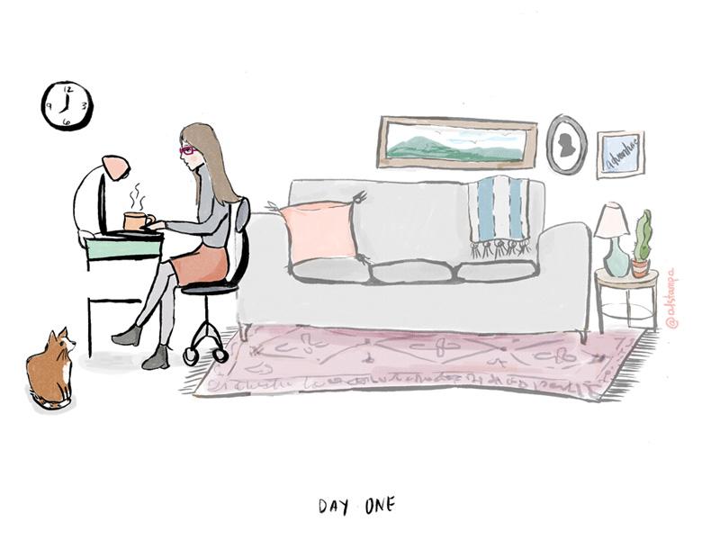 Illustration by AL STAMPA.