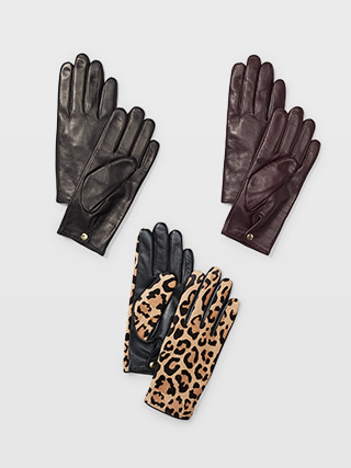 Claudia Leather Glove  HK$1290