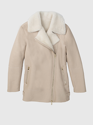 Talia Shearling Coat   HK$15900