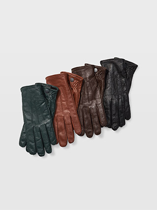 Refined Leather Glove  HK$1190