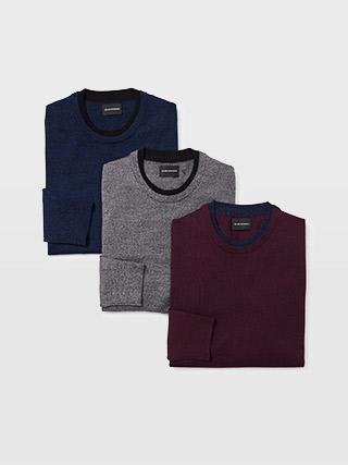 Merino Double-Collar Sweater  HK$1290