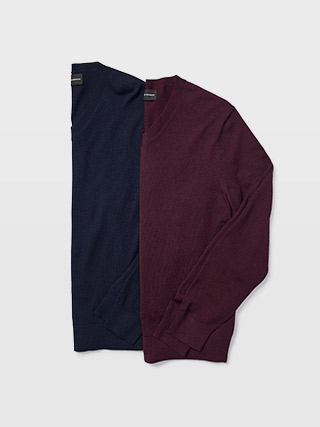 Merino V-Neck Sweater  HK$1090
