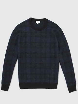 Plaid Brush Crew  HK$2690