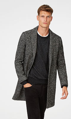 Herringbone Topcoat  HK$4990