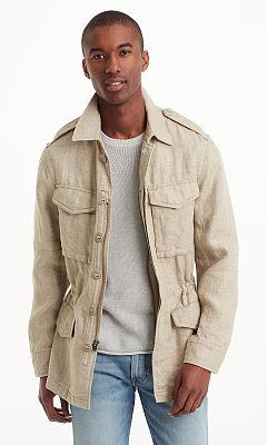 Military Linen Jacket  HK$4490