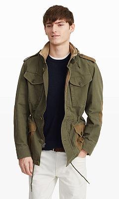 Tonal Military Jacket  HK$5290