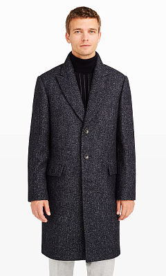 Denim Twill Topcoat  HK$7590