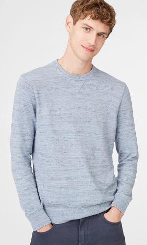 Slub Sweatshirt Crew  HK$1,090