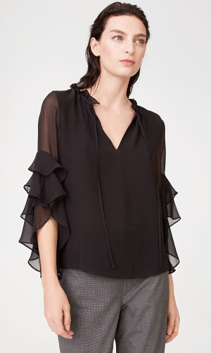 Gienes Silk Top  HK$1890