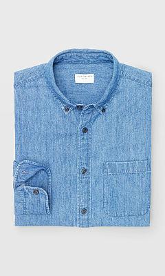 Slim Denim Shirt  HK$990