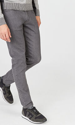 Super Slim Gray Wash Jean  HK$1390