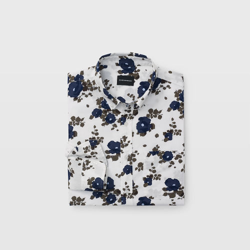 Slim Blooming Floral Shirt  HK$1290