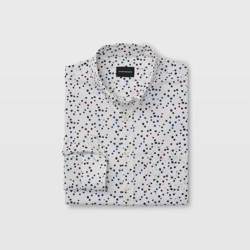 Slim Dot Print Shirt  HK$1290