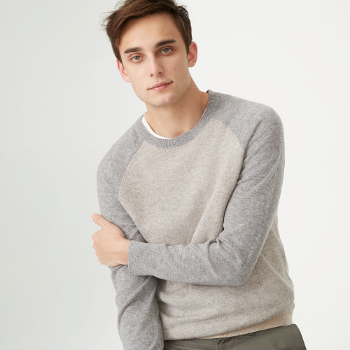 Cashmere Block Raglan Sweater  HK$3090