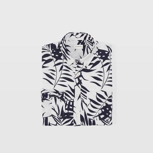 Slim Aloha Linen Shirt  HK$1290