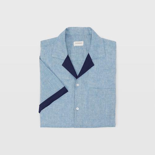 Camp Collar Linen Shirt  HK$990