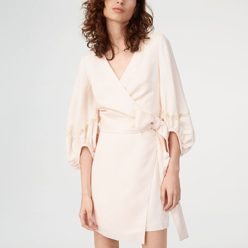 Parnacle Wrap Dress   HK$2690