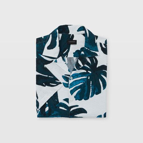 SS Seersucker Magnolia Shirt   HK$990