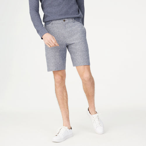 Maddox 9inches Chambray Dot Short   HK$890