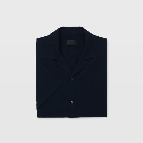SS Camp Collar Seersucker Shirt   HK$990