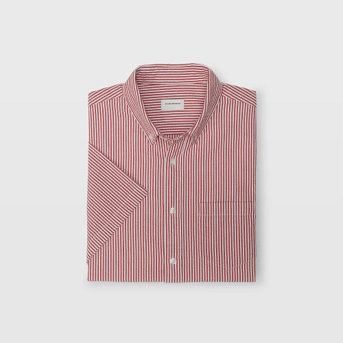 Slim Seersucker Stripe Shirt   HK$990