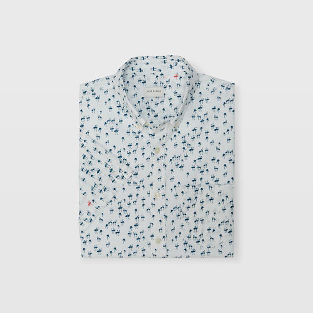 Slim Flamingo Shirt   HK$990
