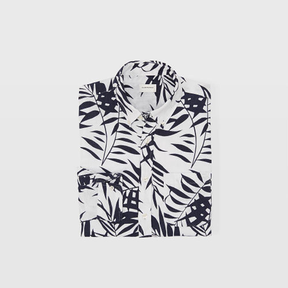 Slim Aloha Linen Shirt   HK$1,290