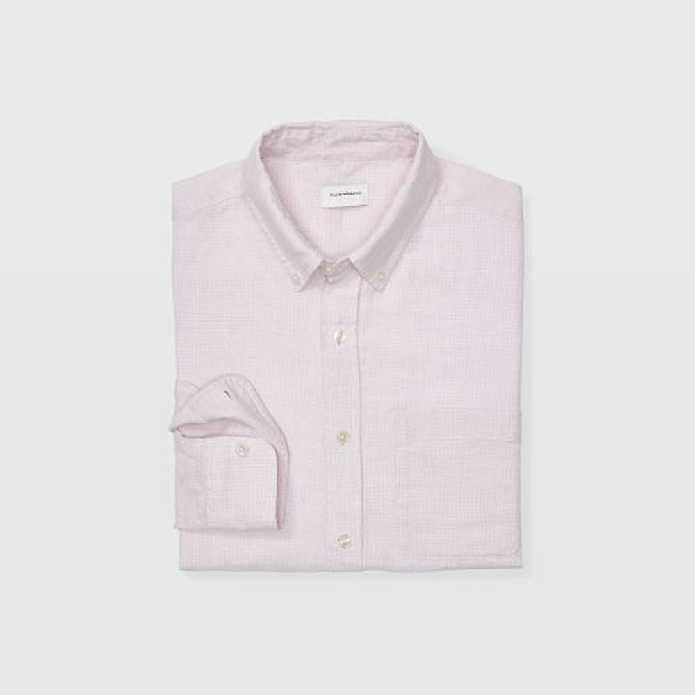 Slim Linen Houndstooth Shirt   HK$1,290