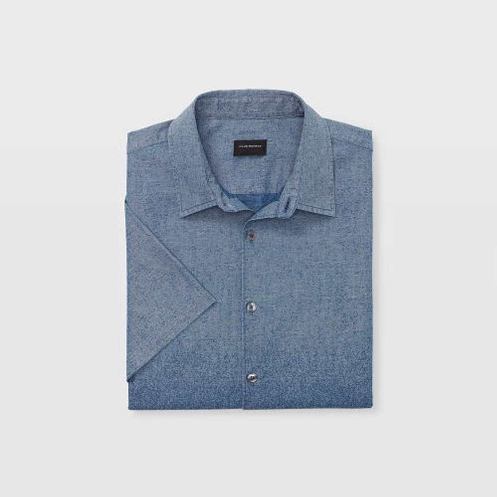 Slim Short-Sleeve Ombre Shirt   HK$1,090