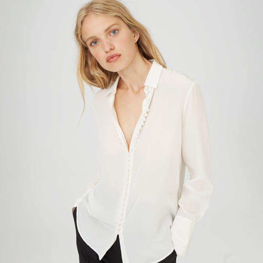 Helek Silk Shirt   was HK$1,690   now HK$1,183