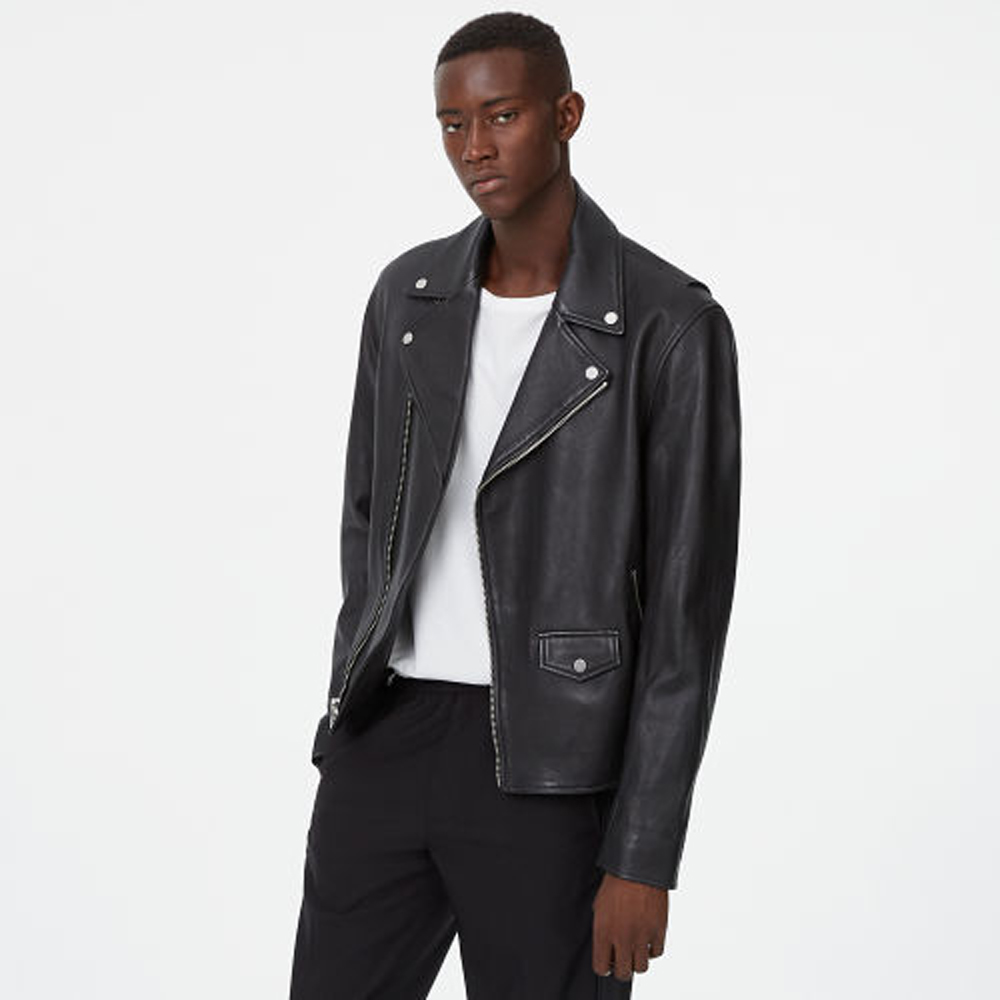 Leather Biker Jacket   HK$6,990