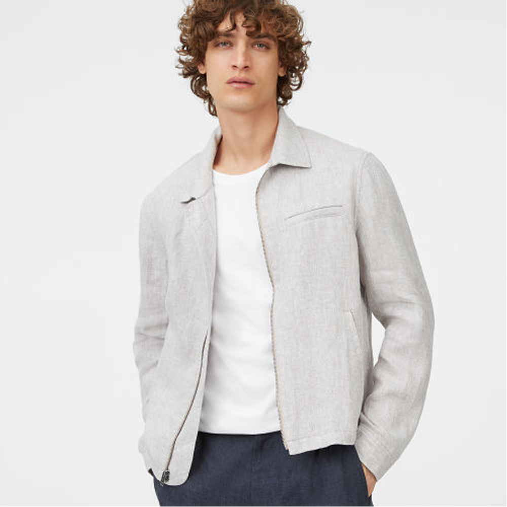 Full-Zip Short Jacket   was HK$2,490   now HK$1,494
