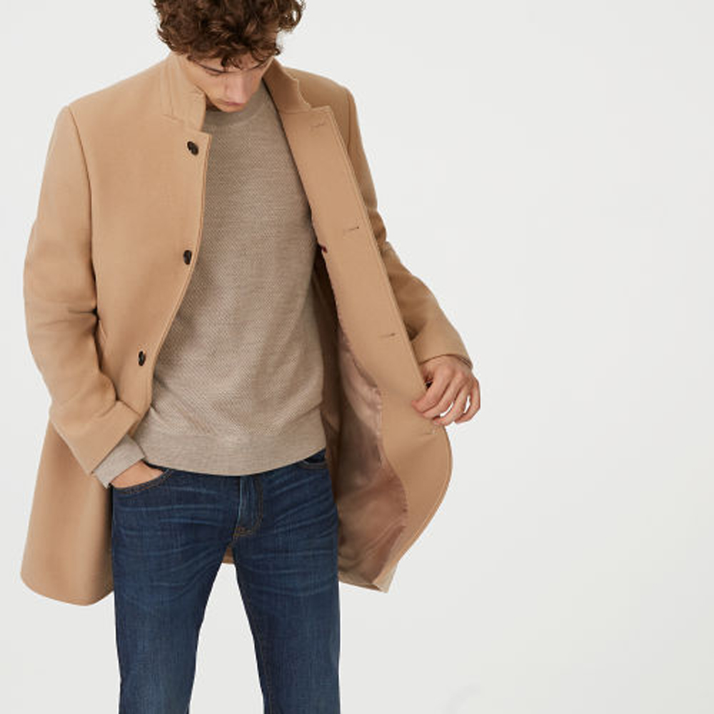 Loukas Funnel-Neck Coat   HK$4,690
