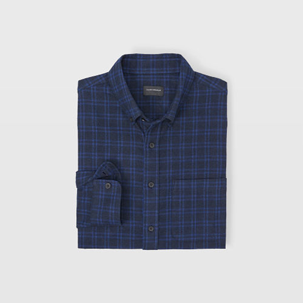 Slim Plaid Jaspé Shirt   HK$1,090