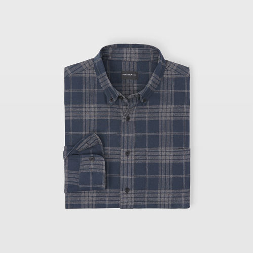 Slim Check Flannel Shirt   HK$1,090
