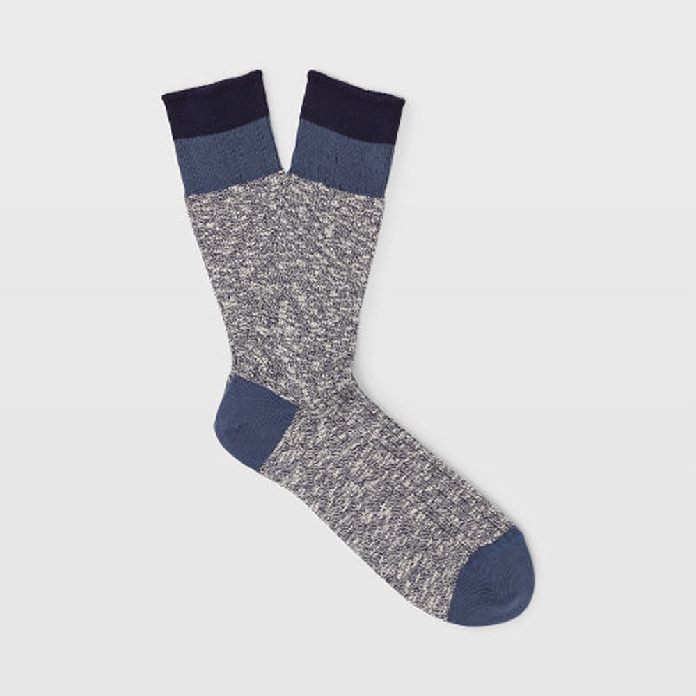 Marl Blocked Sock   HK$290