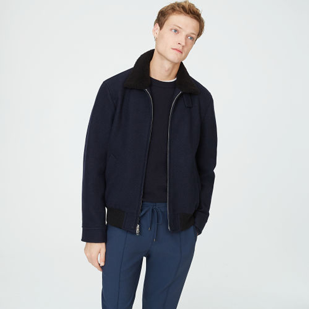 Shearling Collar Bomber   HK$4990
